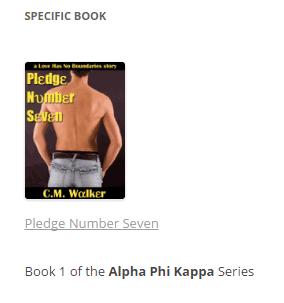 screen shot of book widget example